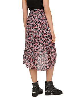 The Kooples - Candy Ruffled Floral-Print Skirt