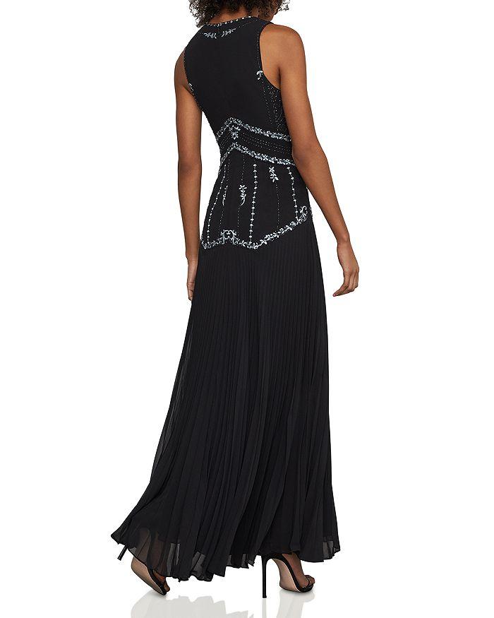 1e7cc5d33e5 BCBGMAXAZRIA - Embroidered Pleated Chiffon Gown