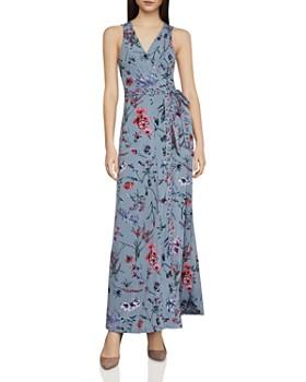 BCBGMAXAZRIA - Wildflowers Maxi Wrap Dress ... 094b26743