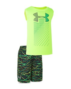Under Armour - Boys' High-Voltage Tank & Shorts Set - Little Kid