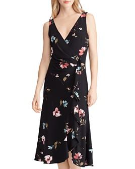 Ralph Lauren - Floral Faux-Wrap Dress
