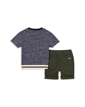 Hudson - Boys' Marled French Terry Shorts Set - Little Kid