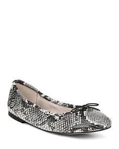Sam Edelman - Women's Felicia Leather Ballet Flats