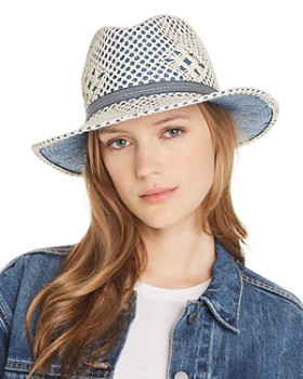 Raffaello Bettini - Macramé-Overlay Fedora - 100% Exclusive