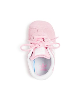 Adidas - Girls' Gazelle Suede Low-Top Crib Sneakers - Baby