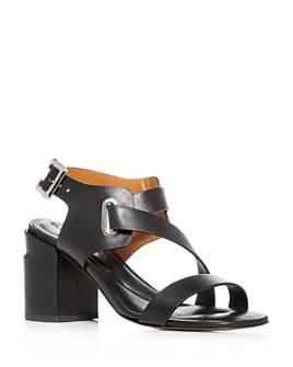 Clergerie - Women's Alba Strappy Block-Heel Sandals