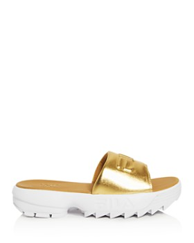 FILA - Women's Disruptor Platform Slide Sandals