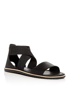 Sorel - Women's Ella Crisscross Ankle-Strap Sandals