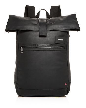 STATE - Colby Coated Canvas Backpack