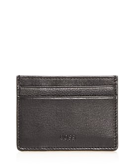 BOSS Hugo Boss - Majestic Leather Money Clip Card Case