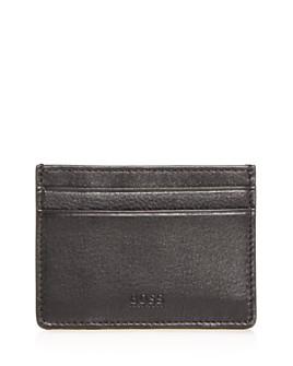 BOSS Hugo Boss - Majestic Leather Money Clip Card Case