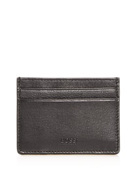 f3c42d190b6 BOSS Hugo Boss - Majestic Leather Money Clip Card Case ...