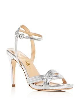 Joan Oloff - Women's Gala Ankle-Strap High-Heel Sandals