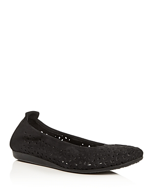 Arche WOMEN'S LILLY PERFORATED BALLET FLATS