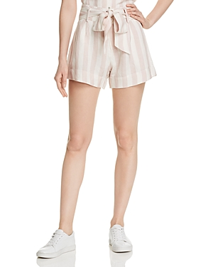 Rails Shorts KATY HIGH-WAIST STRIPED SHORTS