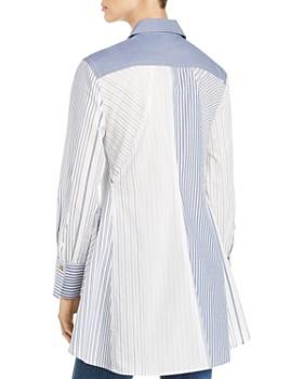 DKNY - Striped Panel Shirt