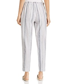 BeachLunchLounge - Striped Tapered-Leg Pants