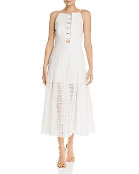 Acler - Eden Eyelet Maxi Dress
