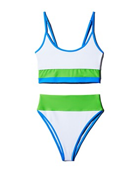 Beach Riot - Eva Ribbed Bikini Top & Highway Ribbed Bikini Bottom - 100% Exclusives