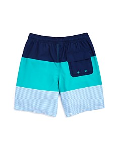Vineyard Vines - Boys' Pieced-Stripe Chappy Swim Trunks - Little Kid, Big Kid