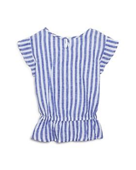 Rails - Girls' Brette Striped Peplum Top - Little Kid, Big Kid