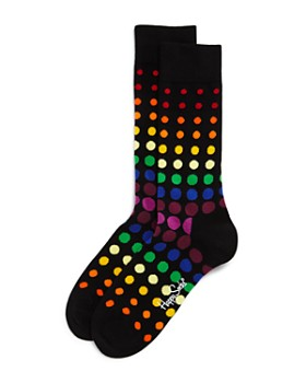 Happy Socks - Pride Rainbow Polka Dot Socks