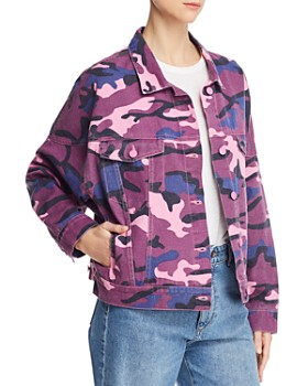 Sunset & Spring - Camo Denim Jacket - 100% Exclusive