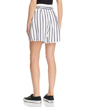 BB DAKOTA - Striped High-Rise Short