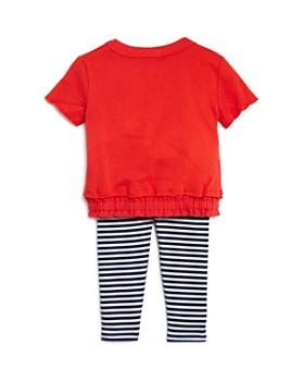 Splendid - Girls' Knit Top & Striped Leggings Set - Baby