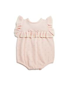 Miniclasix - Girls' Pointelle Knit Romper - Baby