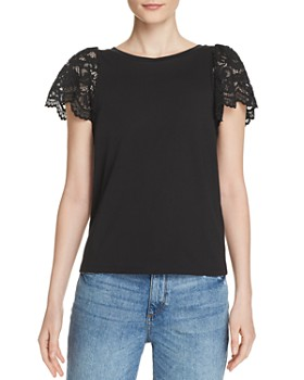 11a81ee5ed Generation Love - Sawyer Lace-Sleeve Top ...