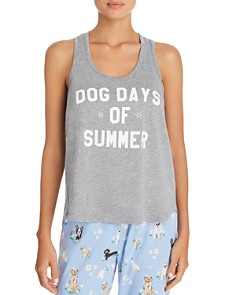 PJ Salvage - Dog Days of Summer Graphic Tank & Dog-Print PJ Pants