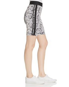 PAM & GELA - Snake Print Biker Shorts - 100% Exclusive