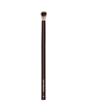 What It Is: The Hourglass No. 4 Crease brush is ideal for precision contouring and blending of eye shadows. What It Does: - Feature Peta-approved, high-grade, ultra-soft Taklon bristles - Weighted metal handle provide control for effortless blending and application - May be used to apply liquid, cream or powder products - Taklon is an excellent alternative for those who suffer from allergies to animal hair - Taklon is a more hygienic alternative to animal hair - Vegan How To Use It: Gently clean