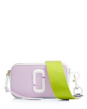 MARC JACOBS - Snapshot Ceramic Leather Crossbody