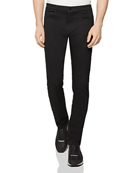 REISS - Jet Straight Fit Jeans in Stay Black