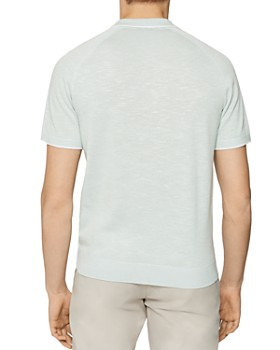 REISS - Easton Slub Polo Regular Fit Shirt
