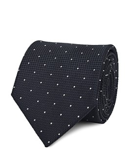 REISS - Liam Dotted Silk Classic Tie