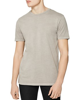 REISS - Heath Garment-Dyed Crewneck Tee