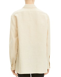 Theory - Classic Linen Menswear Shirt