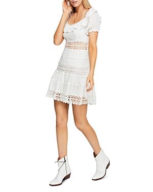 Free People Dresses CRUEL INTENTIONS RUFFLE MINI DRESS