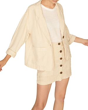Sanctuary Blazers SUNRISE SOFT LINEN BLAZER