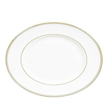 "Wedgwood - Golden Grosgrain 13.75"" Platter"