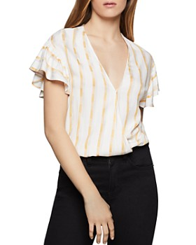 921d7f908928 BCBGENERATION - Striped Crossover Top - 100% Exclusive ...