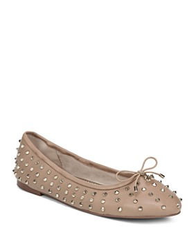 5d11c2494 Sam Edelman - Women s Fanley Studded Leather Ballet Flats ...