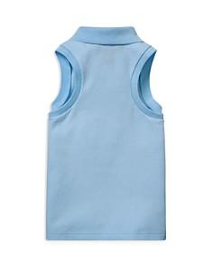 Ralph Lauren - Girls' Sleeveless Mesh Polo Shirt - Little Kid