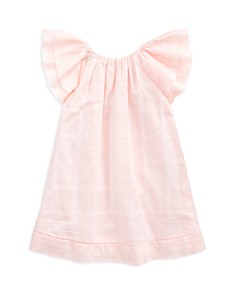 Ralph Lauren - Girls' Flutter-Sleeve Dress - Little Kid