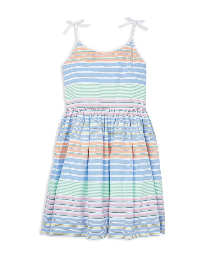 Ralph Lauren - Girls' Striped Oxford Dress - Big Kid