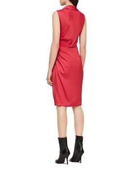 8c67e9292150 ALLSAINTS - Cancity Ruched Wrap Dress ALLSAINTS - Cancity Ruched Wrap Dress