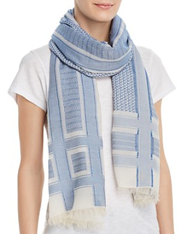 Abstract - Geometric Scarf